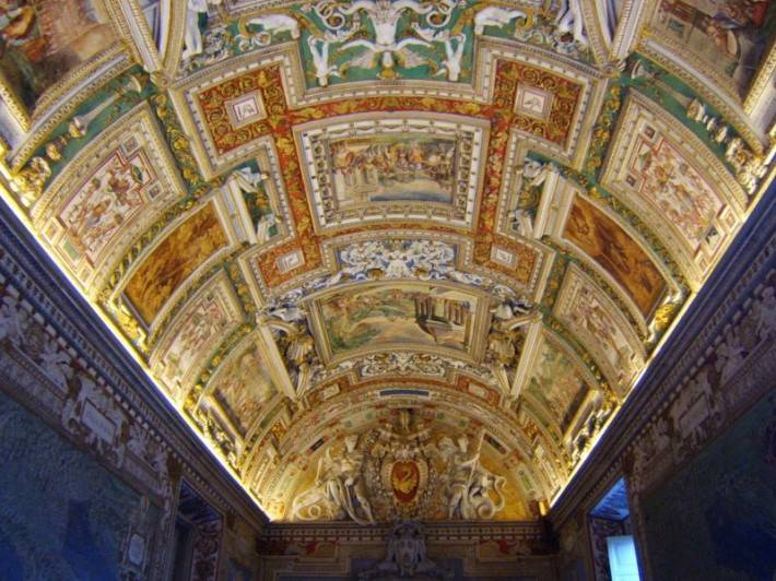 Галерея географических карт в Ватикане (фото 9)
