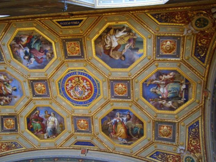 Роспись потолка — фото 262