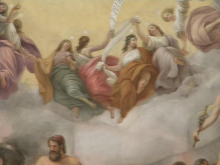 Роспись потолка — фото 263