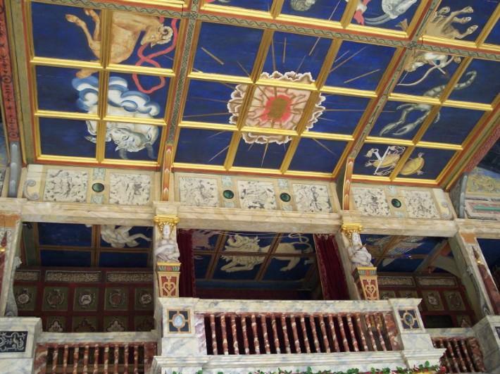 Роспись потолка — фото 113