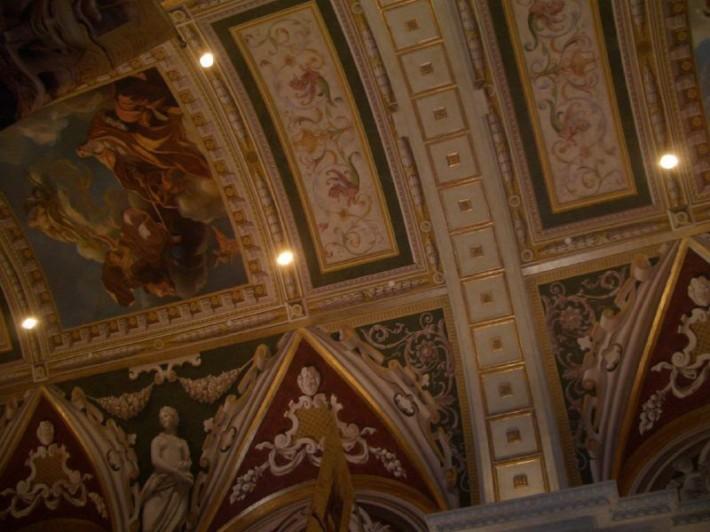 Роспись потолка — фото 264