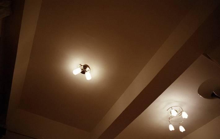 Двухуровневый потолок из гипрока