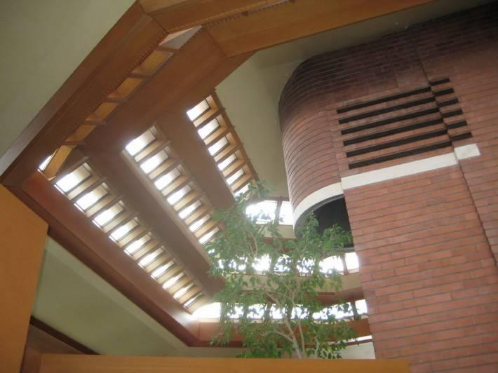 Деревянный потолок — фото 27