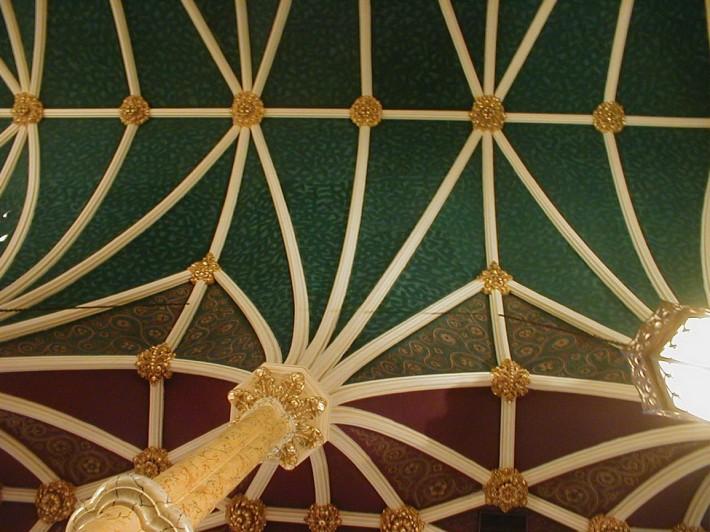 Роспись потолка — фото 219