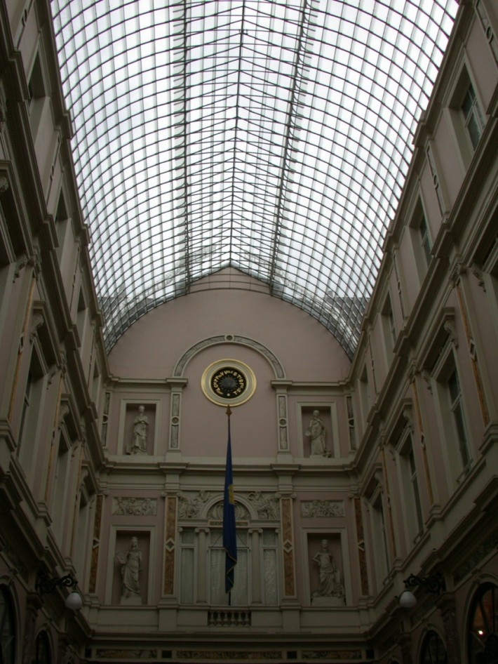 Стеклянная крыша — фото 63