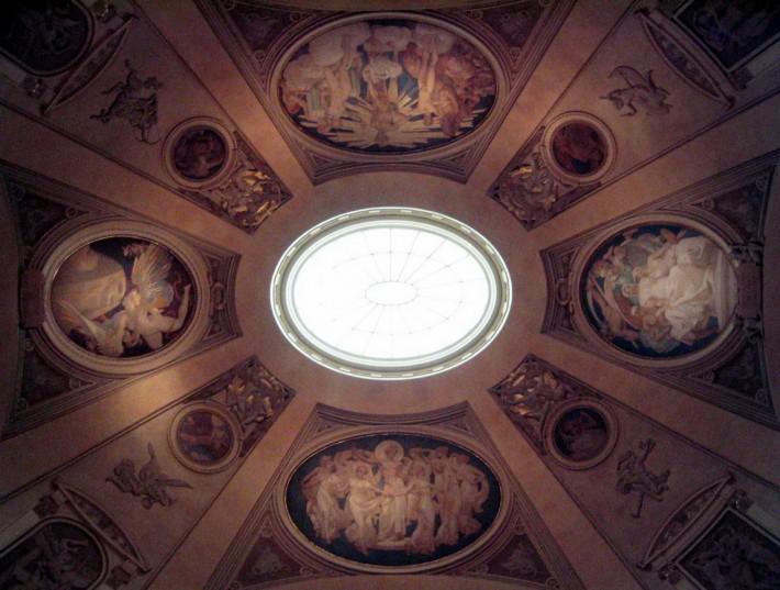 Роспись потолка — фото 246