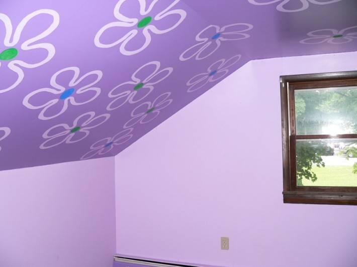 Роспись потолка — фото 127