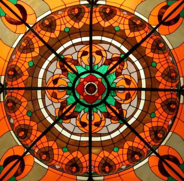 Витражный потолок — фото 33