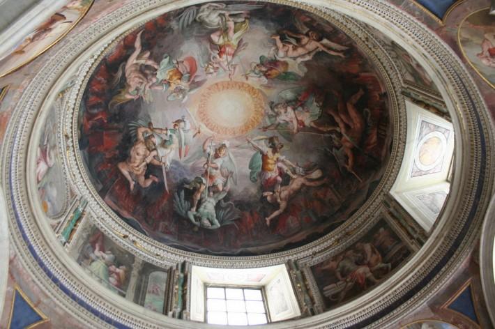 Роспись потолка — фото 352