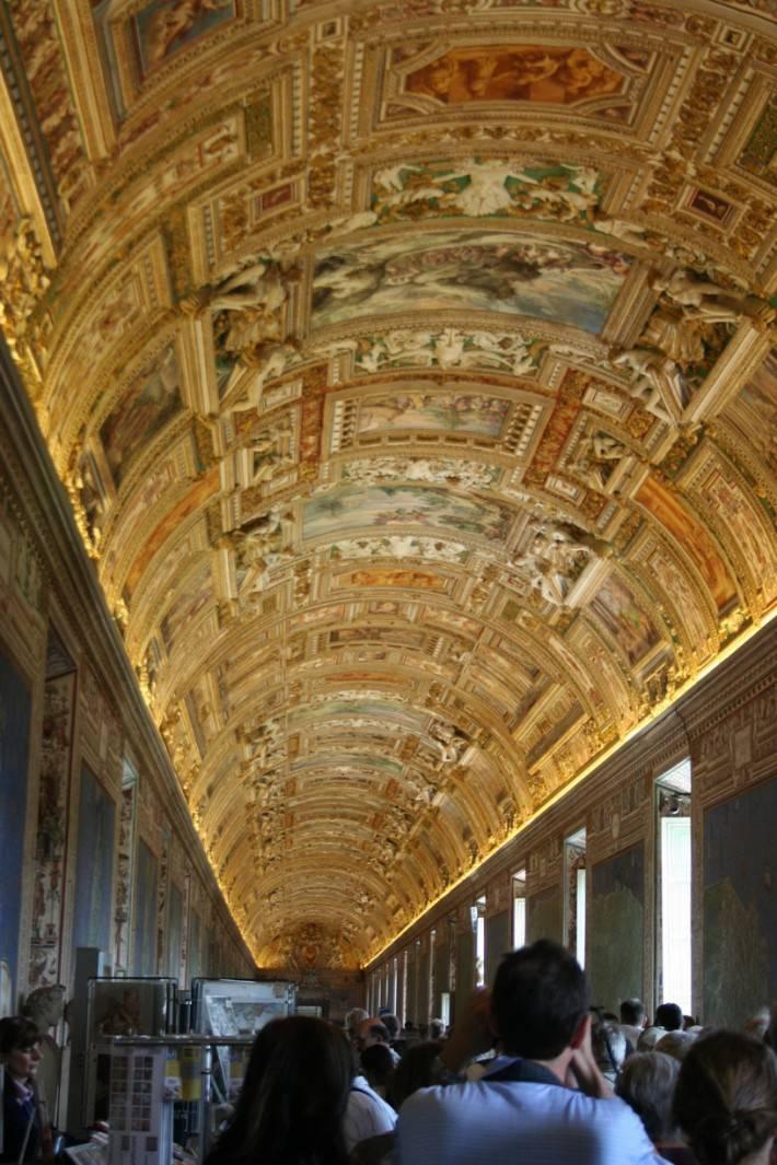 Галерея географических карт в Ватикане (фото 4)