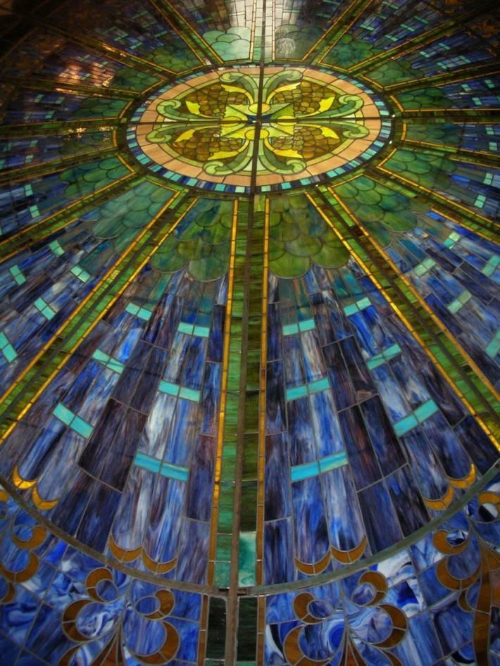 Витражный потолок — фото 3