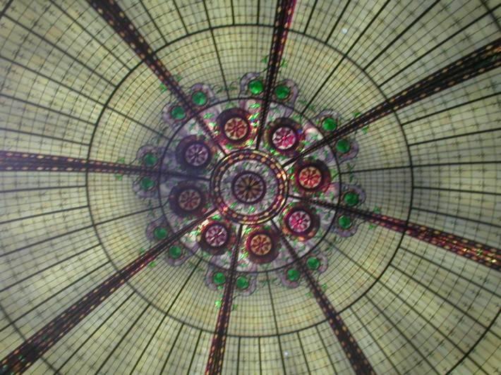 Витражный потолок — фото 13
