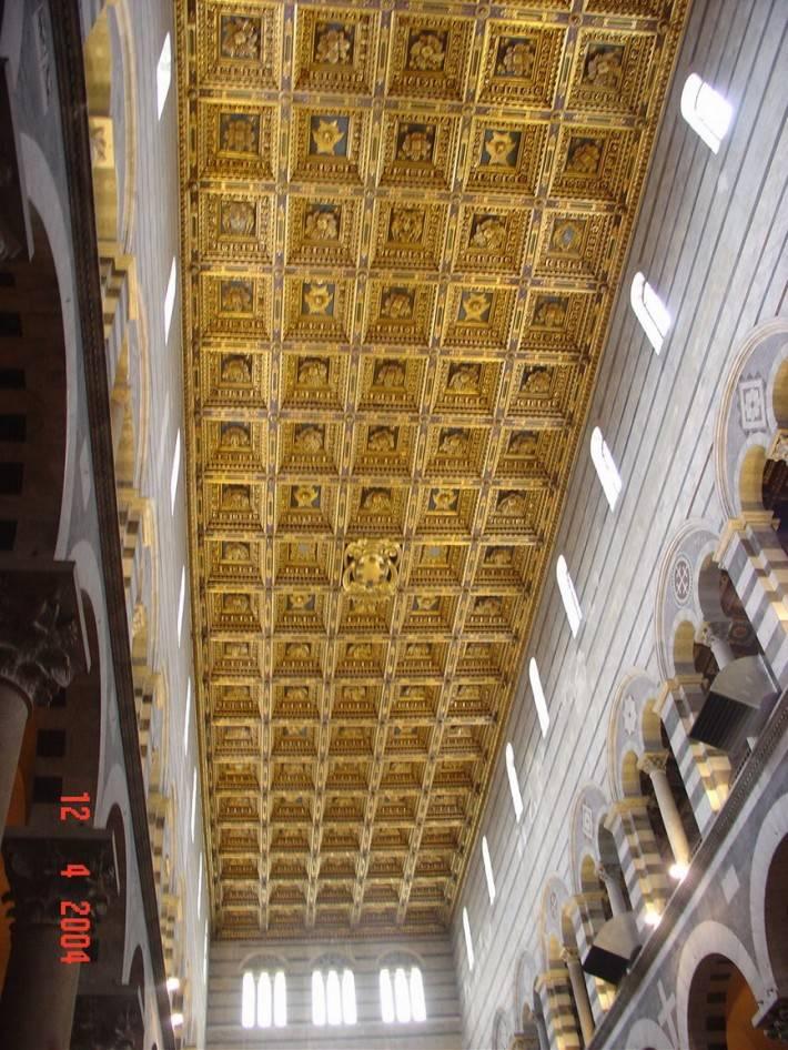 Потолок Пизанского собора, Пьяцца деи Мираколи