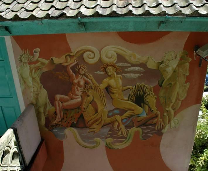 Роспись потолка — фото 49