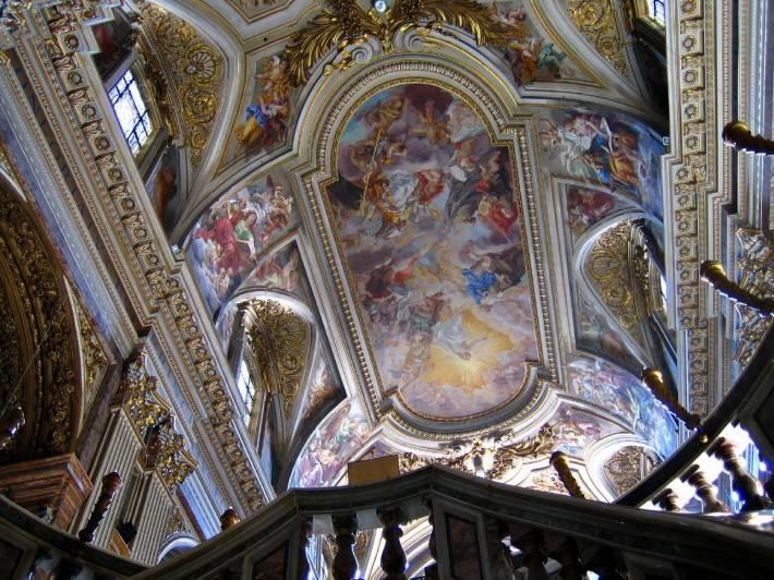 Роспись потолка — фото 144