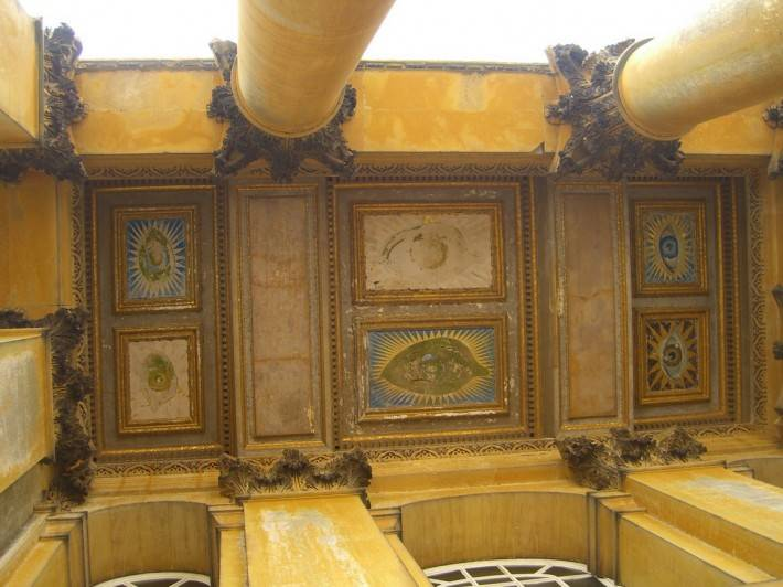 Роспись потолка — фото 182