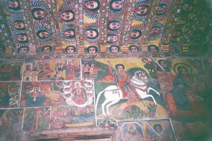 Роспись потолка — фото 99