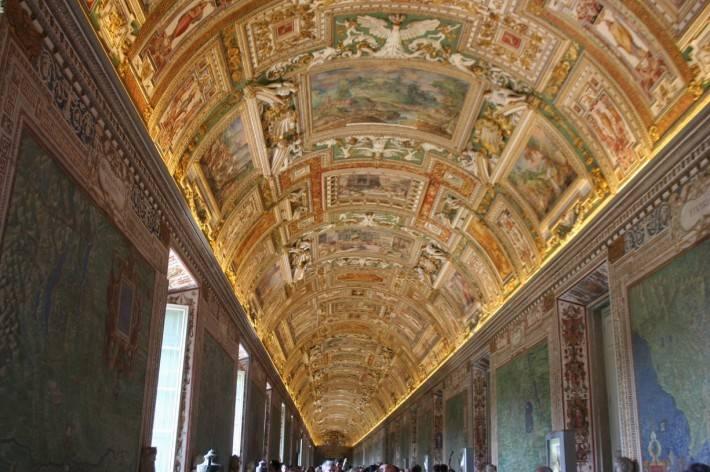 Галерея географических карт в Ватикане (фото 22)