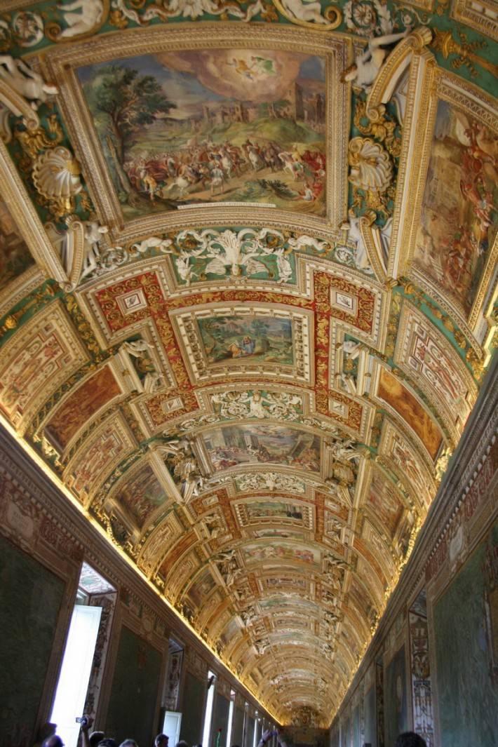 Галерея географических карт в Ватикане (фото 20)