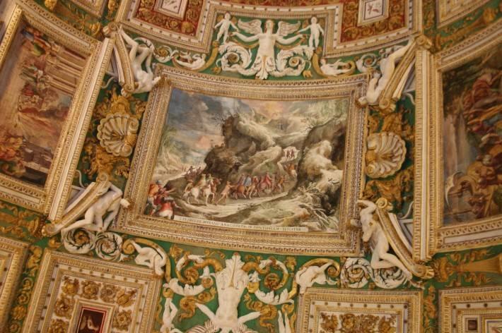 Галерея географических карт в Ватикане (фото 19)