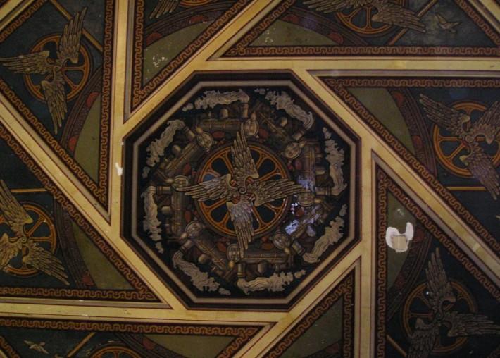 Роспись потолка — фото 165