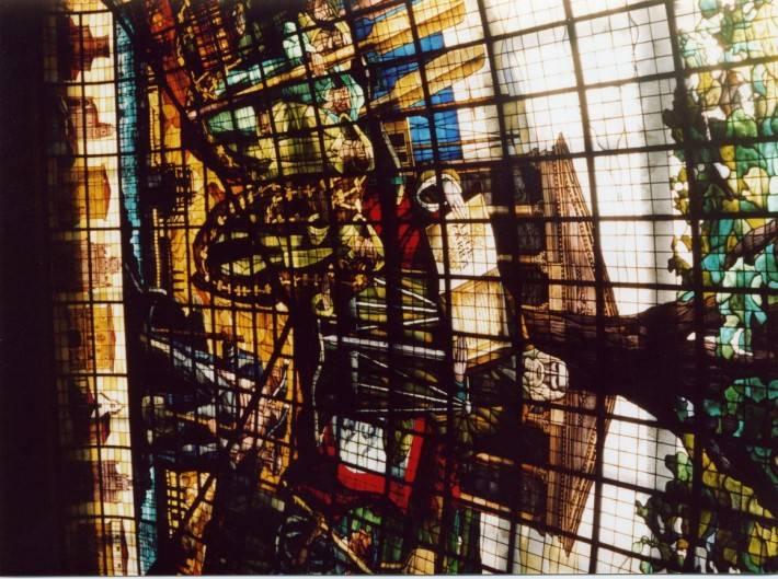 Витражный потолок — фото 14