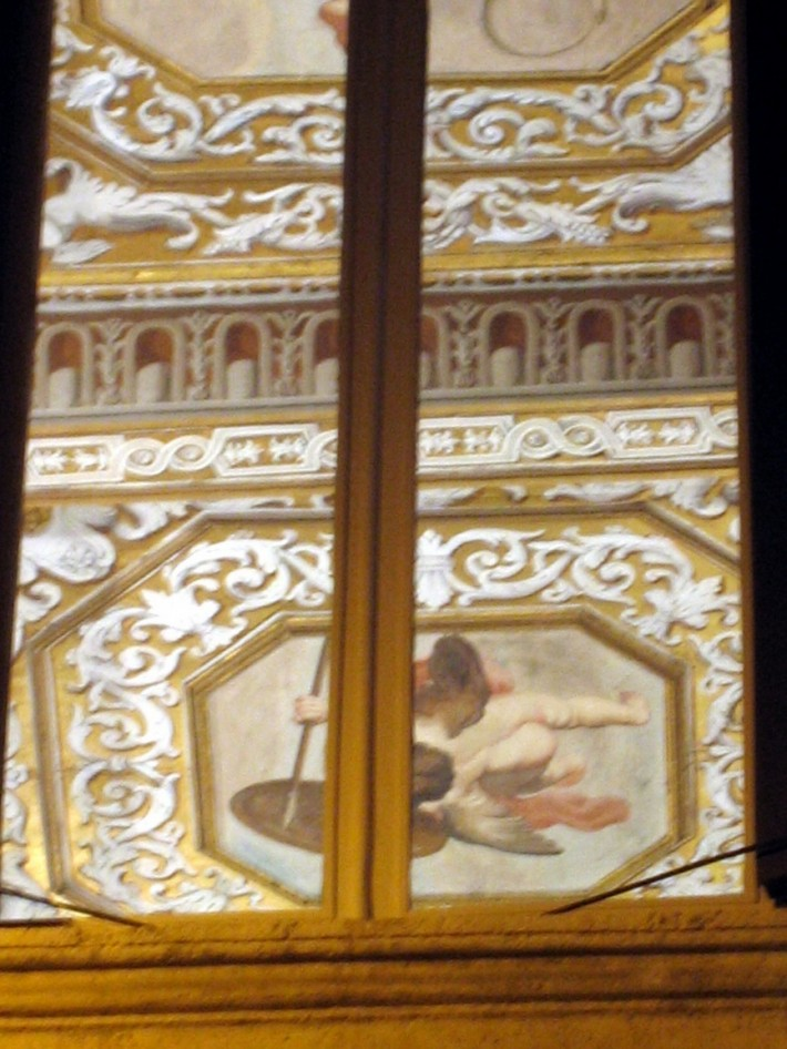 Роспись потолка — фото 279