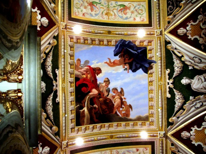 Роспись потолка — фото 322