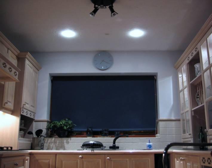 Потолок из гипсокартона — фото 34