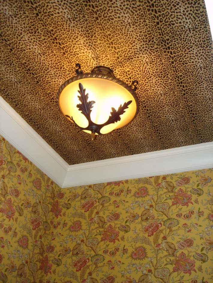Роспись потолка — фото 51