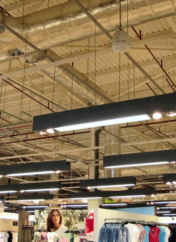 Металлический потолок — фото 11