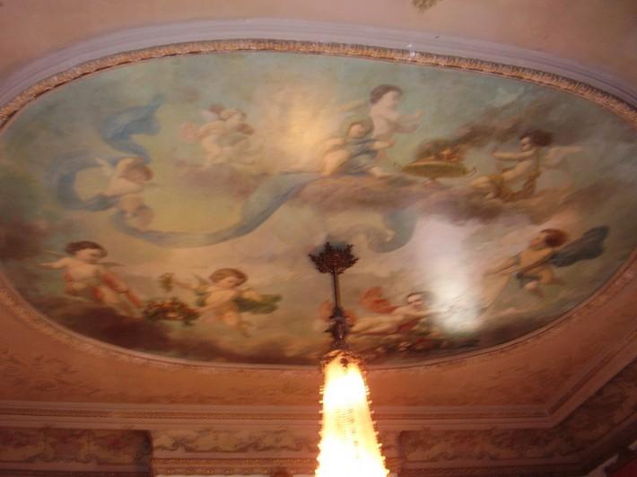 Роспись потолка — фото 140