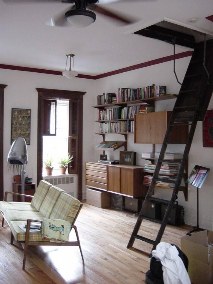 Потолок из гипсокартона — фото 63