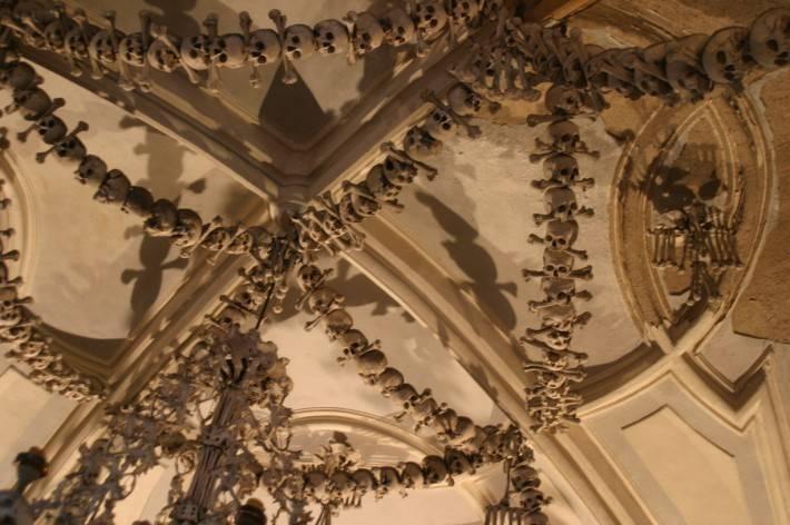 Костехранилище в Седлеце — потолок