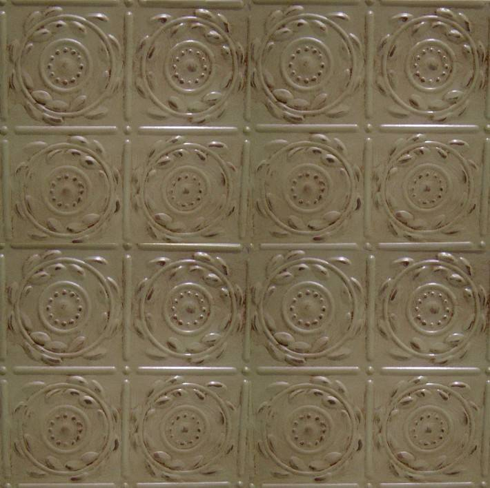 Потолок из декоративных панелей — фото 10