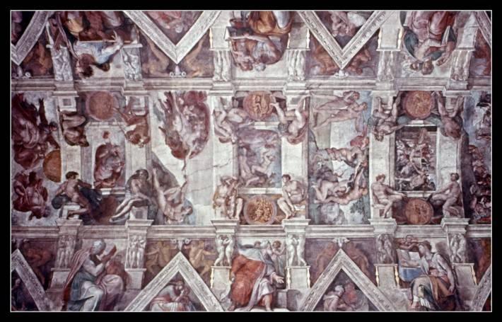 Потолок Сикстинской капеллы — фото 1