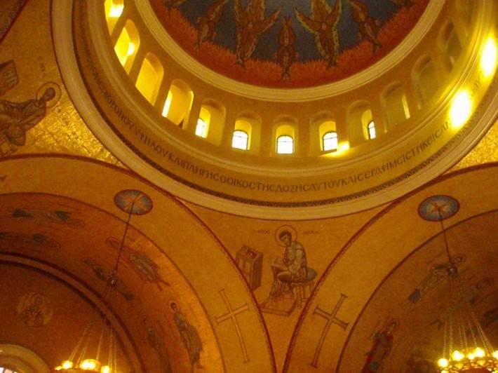 Мозаика в церкви Святой Софии в Вашингтоне (фото 2)