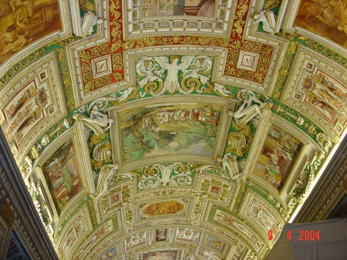 Галерея географических карт в Ватикане (фото 17)