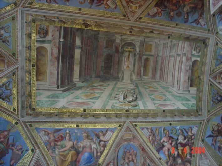 Потолок Сикстинской капеллы — фото 6