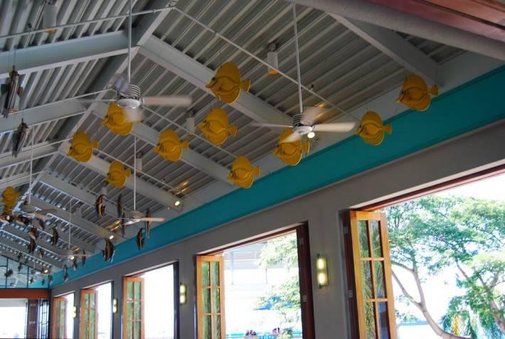 Металлический потолок — фото 62