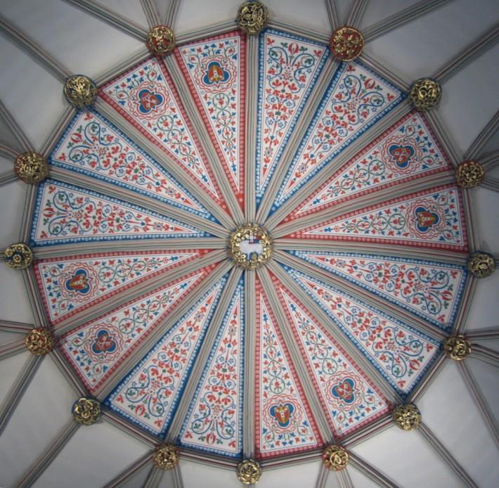 Роспись потолка — фото 280