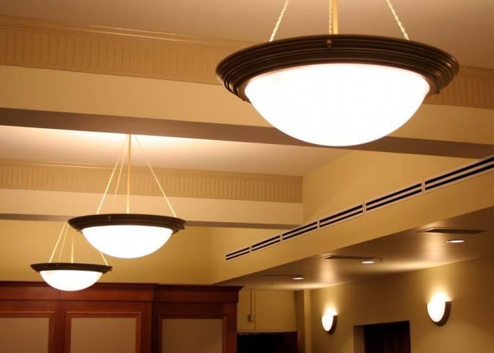 Потолок из гипсокартона — фото 69