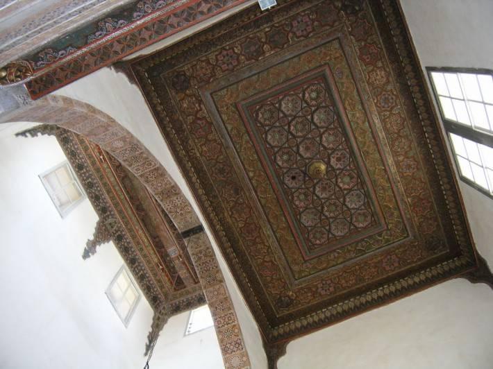 Потолок здания Байт-аль-Аккад