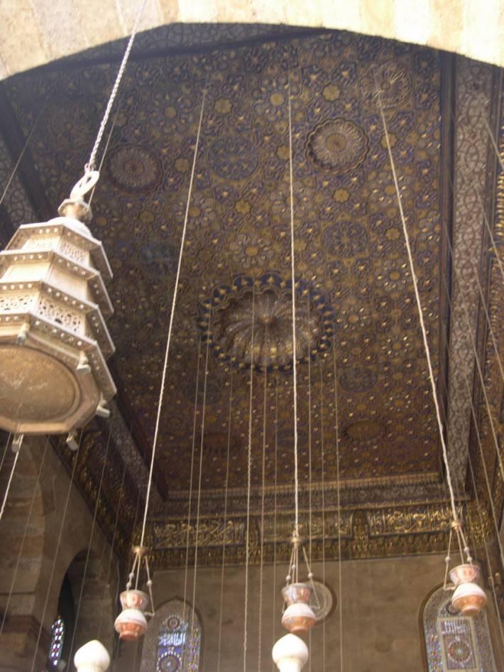 Потолок мавзолея в комплексе Аль-Калавун