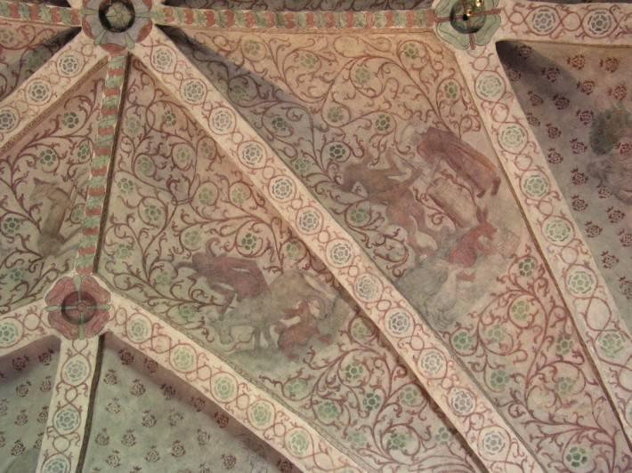 Роспись потолка в церкви города Осмо в Швеции (фото 2)