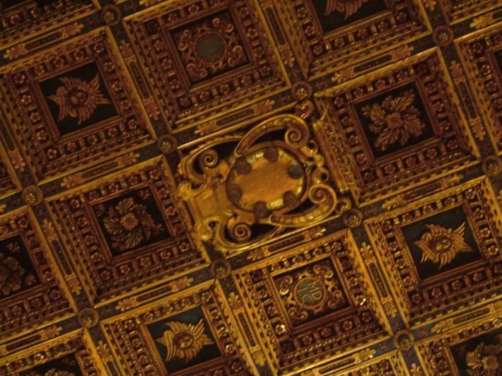Фрагмент потолка Пизанского собора, Пьяцца деи Мираколи (фото 2)