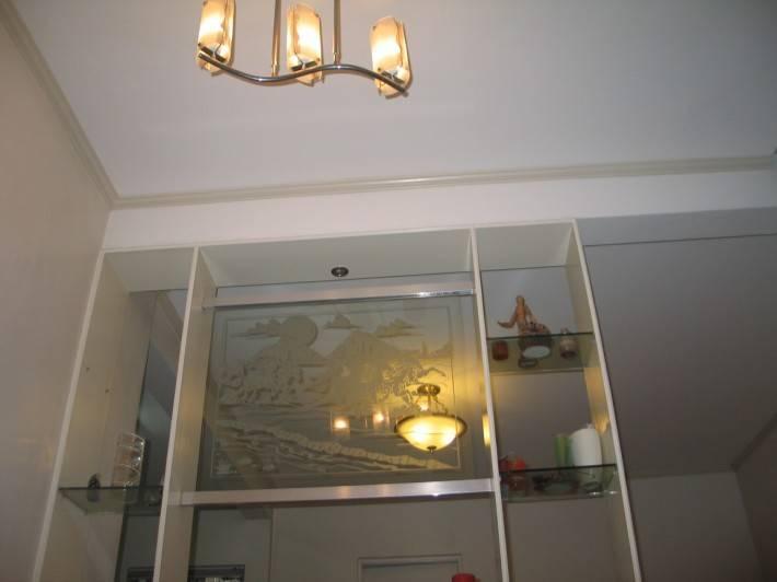 Потолок из гипсокартона — фото 24