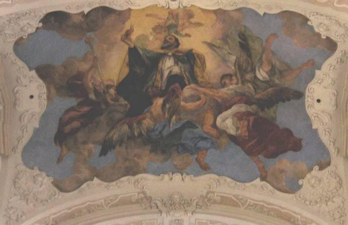 Апофеоз святого Августина, костел святого Томаша