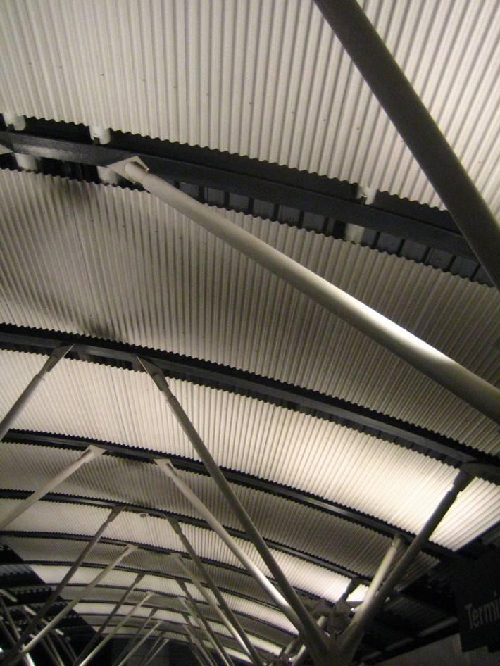 Металлический потолок — фото 33