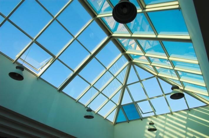 Стеклянная крыша — фото 61